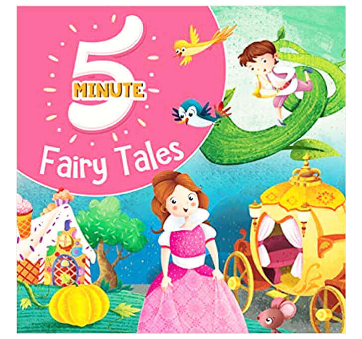 Buy 5 Minute Fairy Tales (Premium Quality Padded & Glittered Book)
