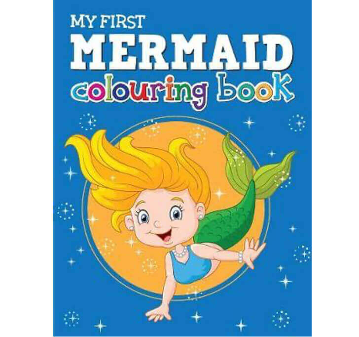 Buy My First Mermaid Colouring Book