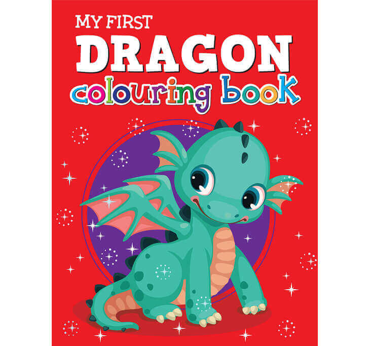 Buy My First Dragon Colouring Book