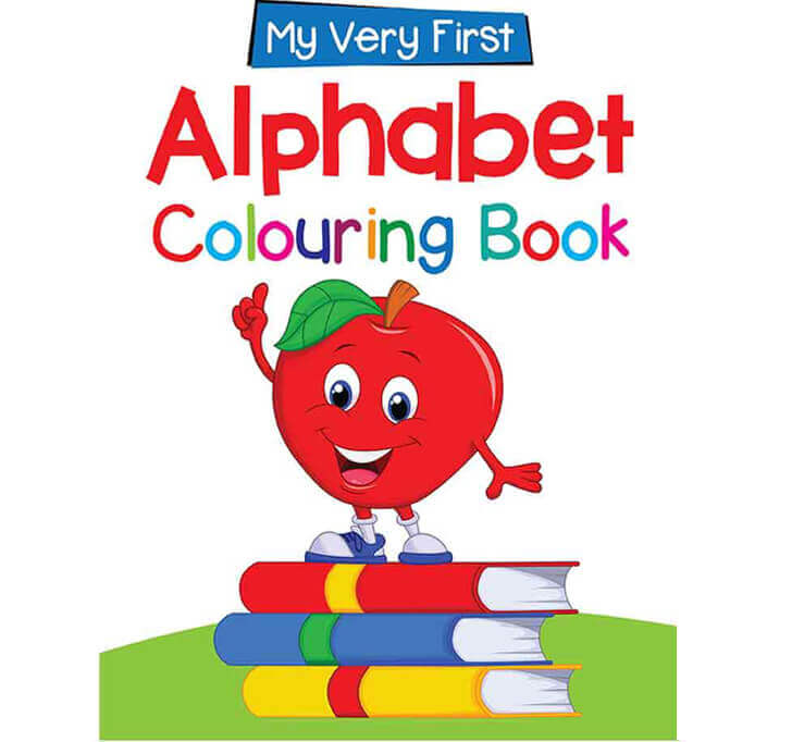Buy My First Colouring Book: Alphabet