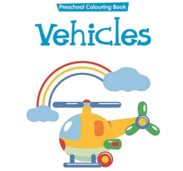 Buy Preschool Colouring Book Vehicles