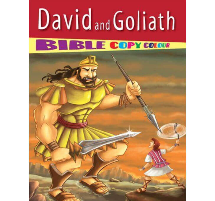 Buy David And Goliath - Bible Copy Colour