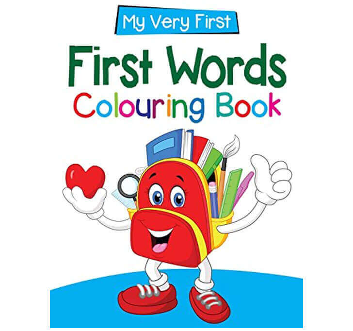 Buy First Words : My Very First Colouring Book