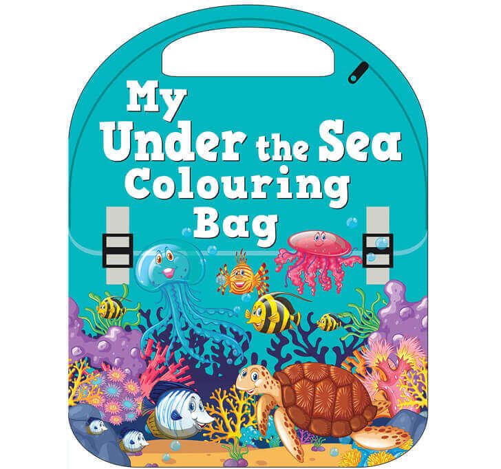Buy My Under The Sea Colouring Bag