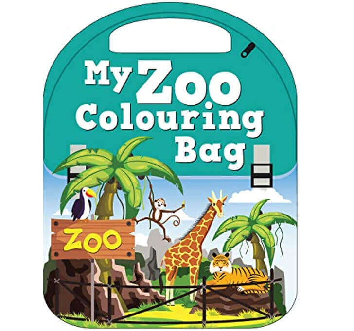 Buy My Zoo Colouring Bag (My Colouring Bag)