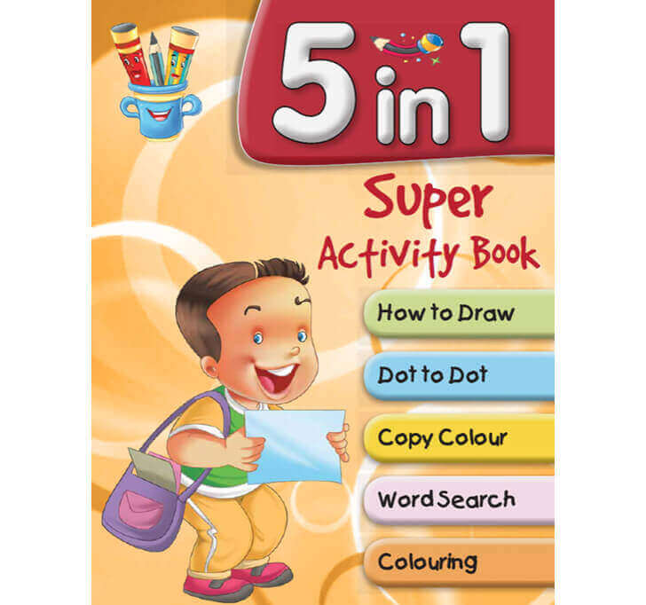 Buy 5 In 1 Super Activity Book