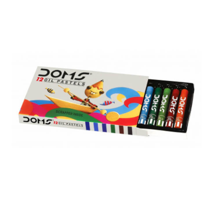 Buy DOMS Oil Pastels - 12 Shades