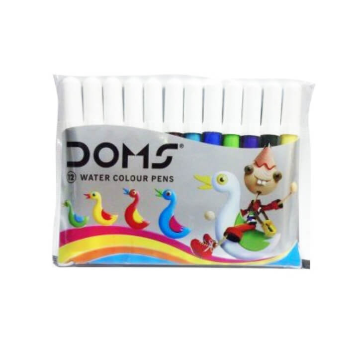 Buy DOMS Water Colour Sketch Pens Mini - 12 Shades