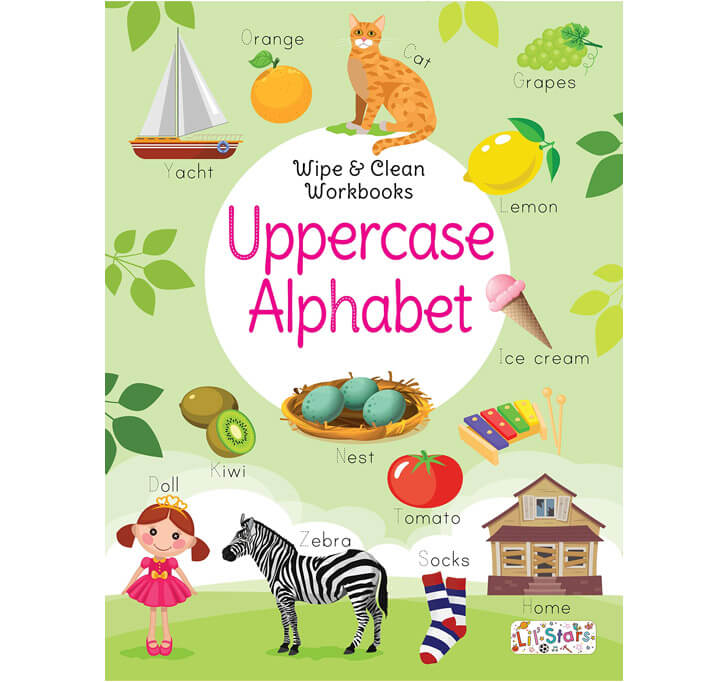 Buy Wipe & Clean Workbook With Free Pen Uppercase Alphabet