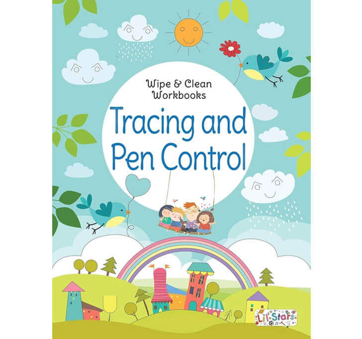 Buy Tracing And Pen Control Wipe & Clean Workbook With Free Pen