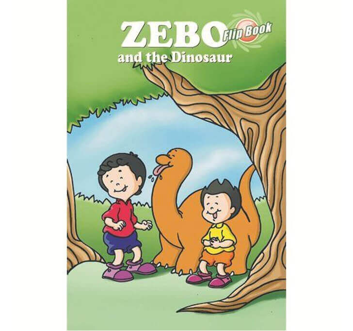 Buy Zebo And The Dinosaurs Flip Book
