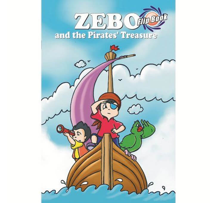 Buy Zebo And The Pirates Treasure Flip Book